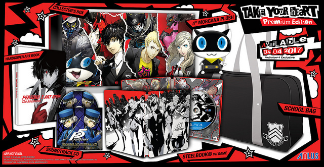 Persona 5 wydanie kolekcjonerskie