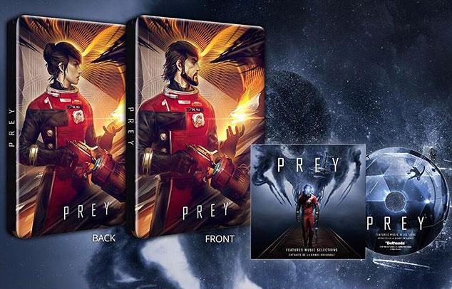 Prey steelbook soundtrack