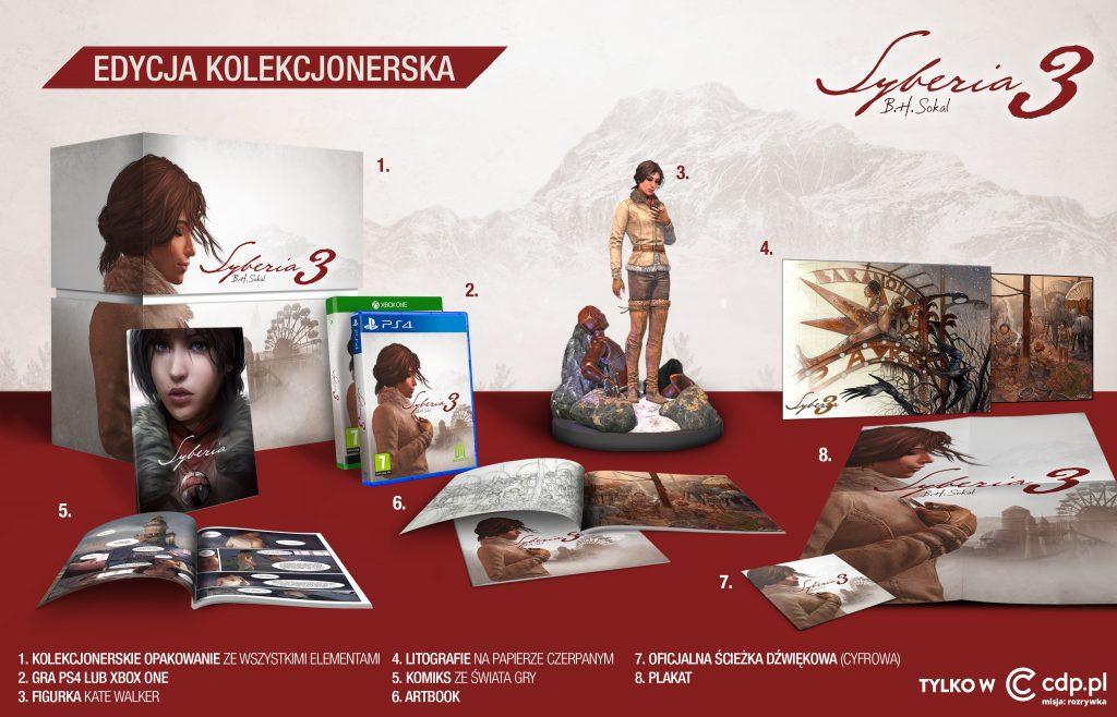Syberia 3 edycja kolekcjonerska