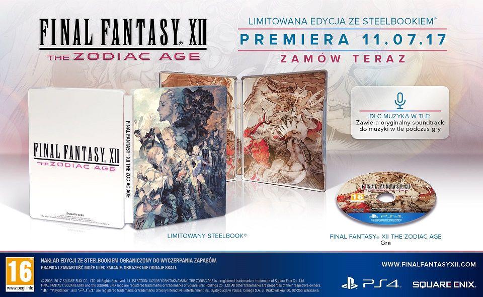 Final Fantasy XII The Zodiac Age Steelbook