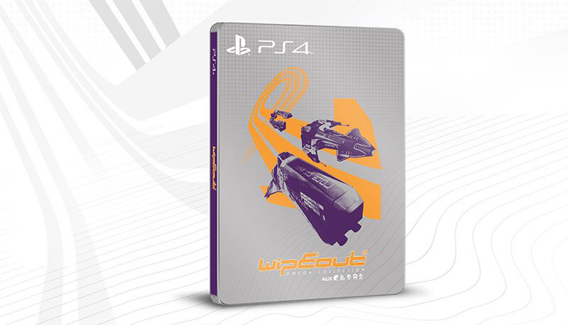 Wipeout Omega Collection Steelbook