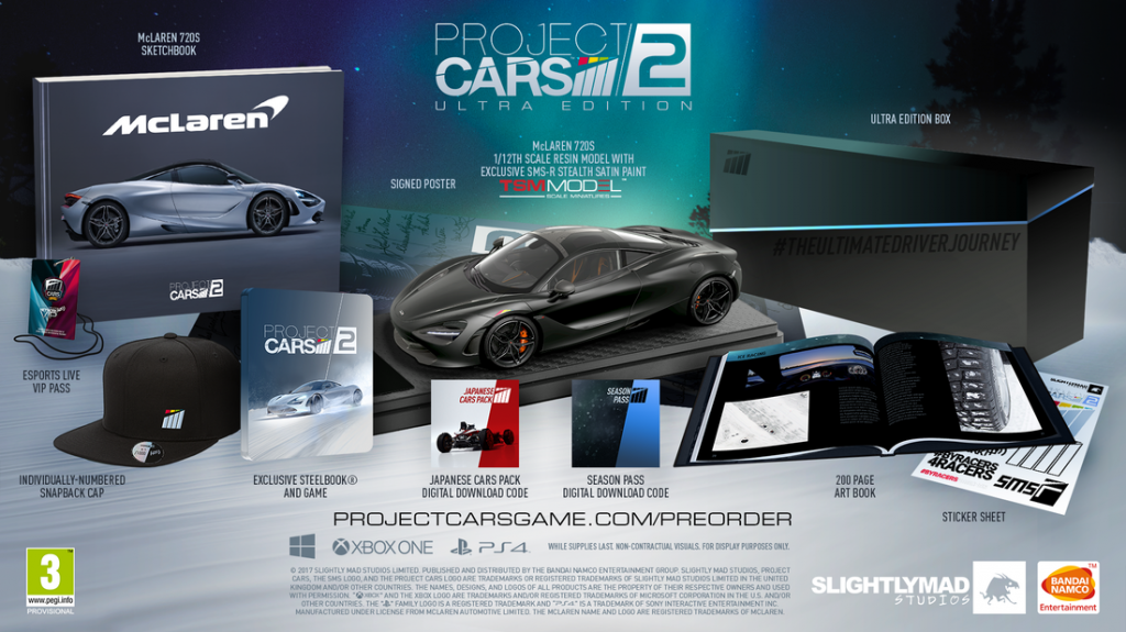 Project CARS 2 Edycja Ultra