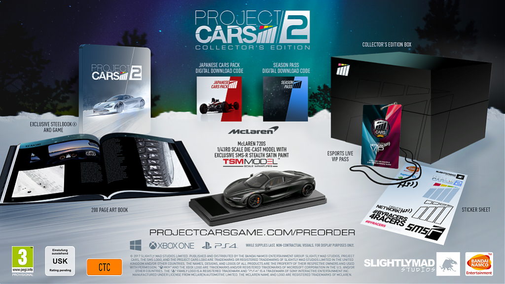 Project CARS 2 Edycja Kolekcjonerska