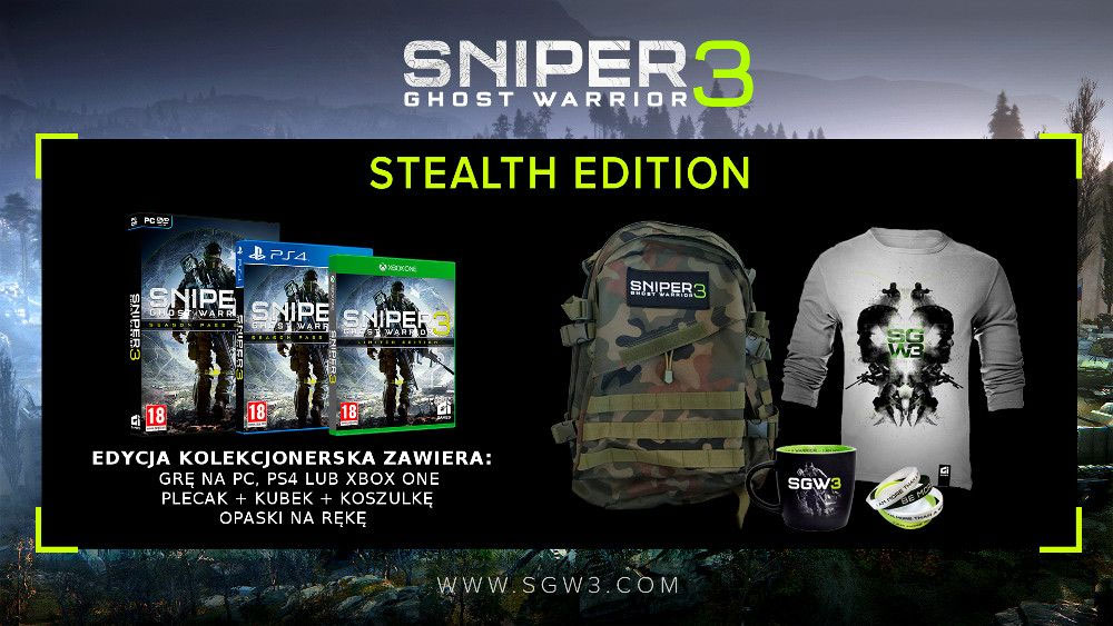 Sniper Ghost Warrior 3 Stealth Edition