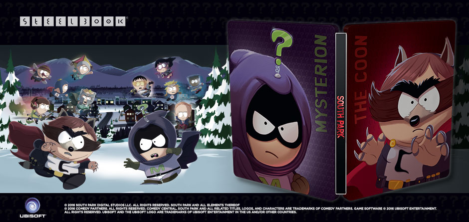 South Park The Fractured But Whole Steelbook