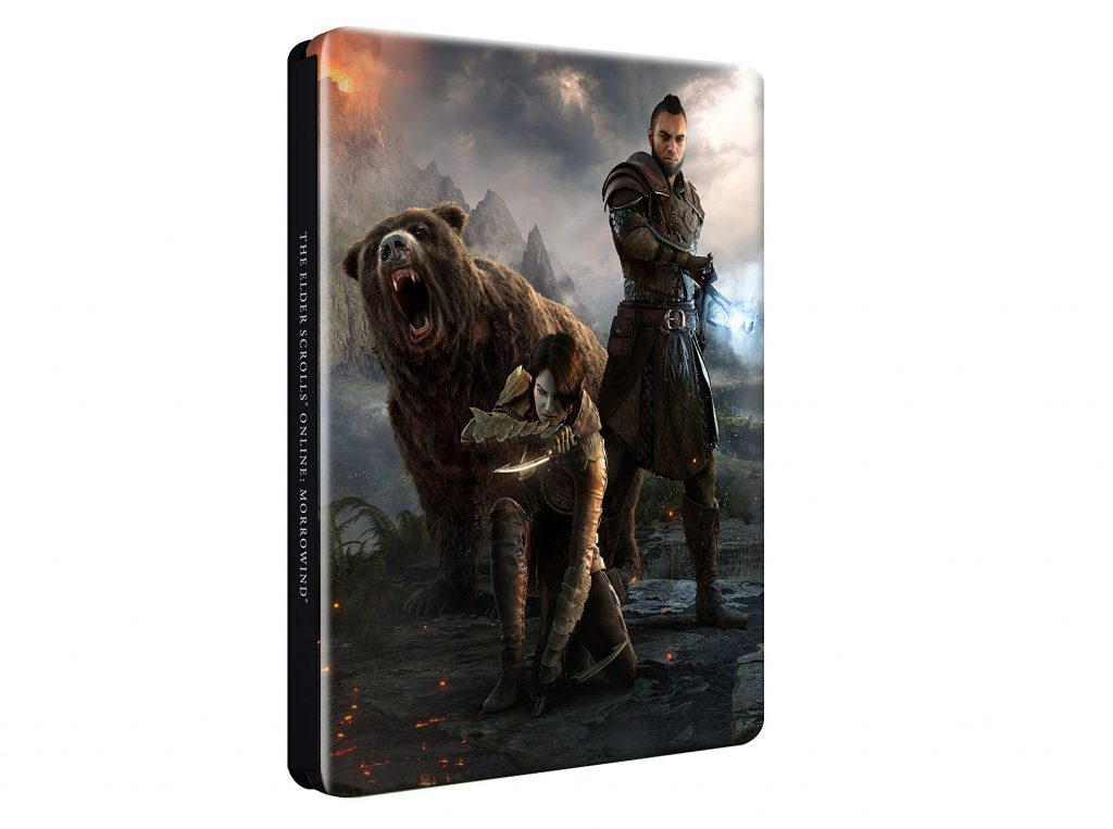 The Elder Scrolls Online Morrowind Steelbook