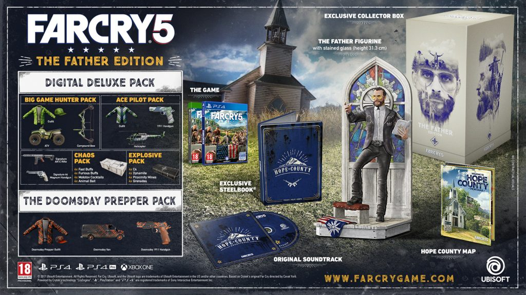Promocja Far Cry 5 Father Edition