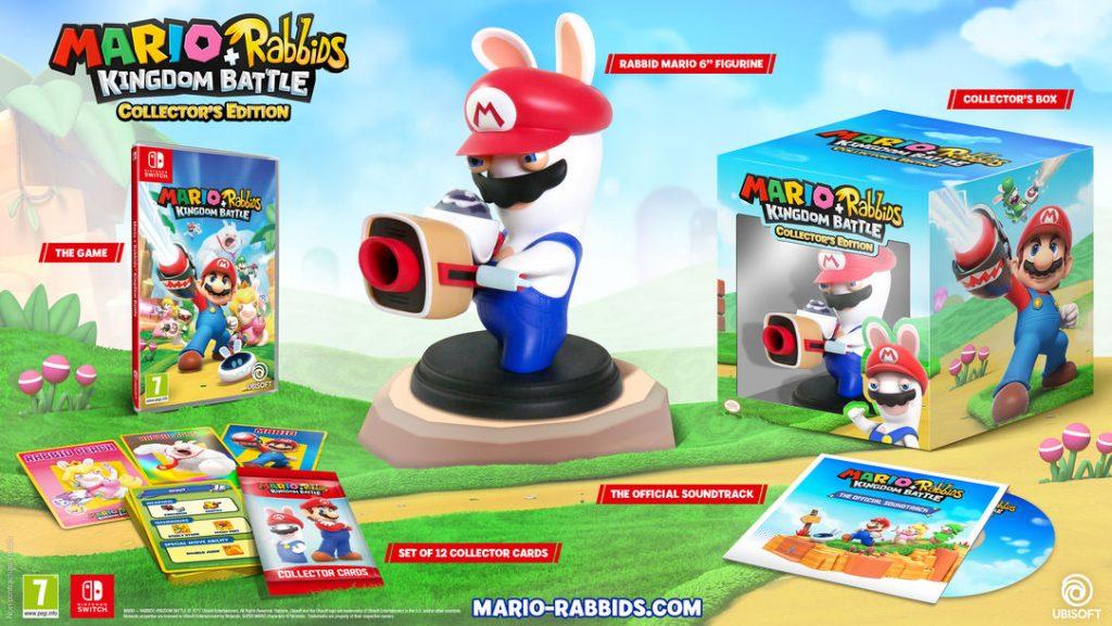 Kolekcjonerska edycja Mario + Rabbids: Kingdom Battle Promocja