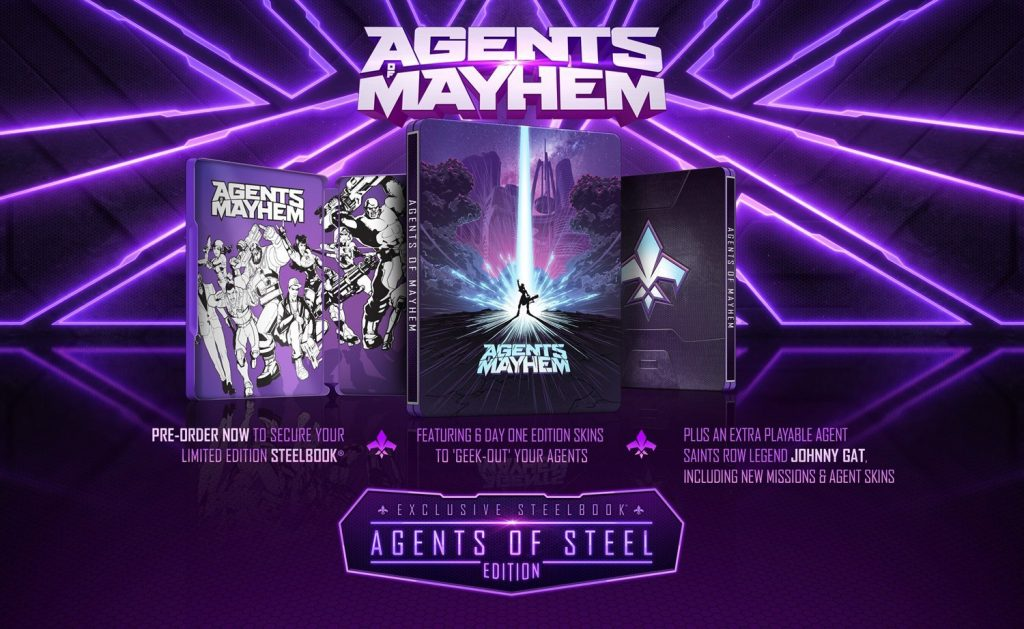 Agents of Mayhem Steelbook