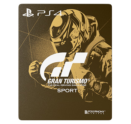 Gran Turismo Sport Edycja Steelbook