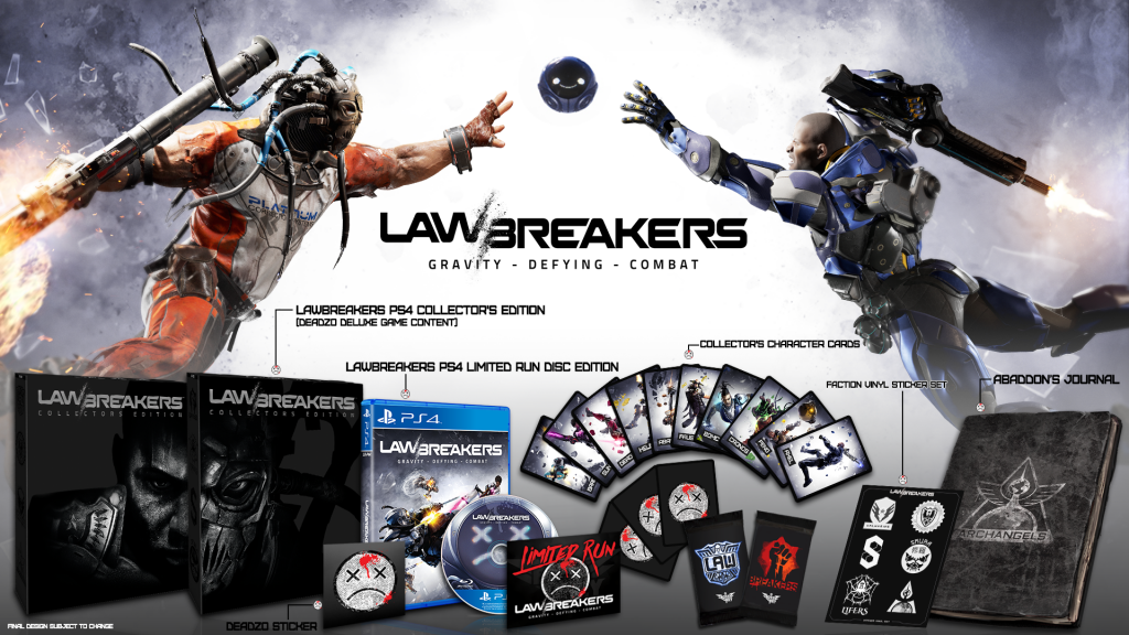 LawBreakers Edycja Kolekcjonerska