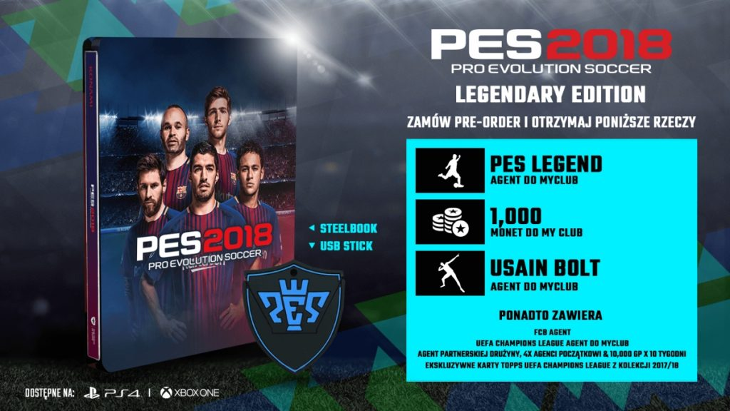 Pro Evolution Soccer 2018 Legendary Edition