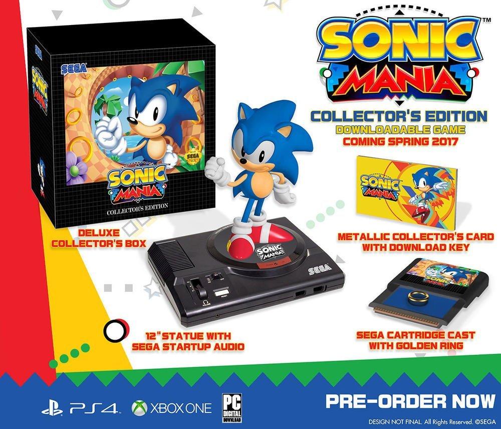 Edycja kolekcjonerska Sonic Mania