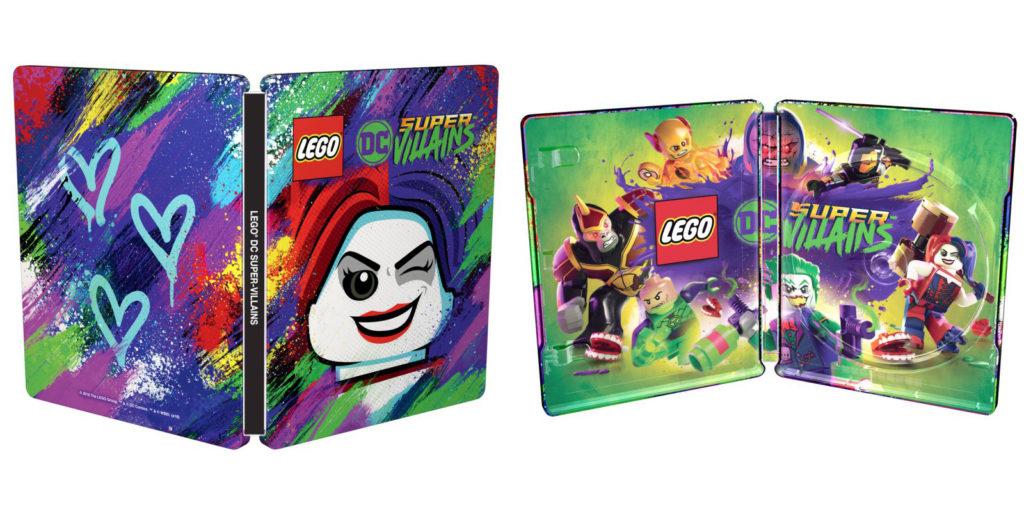 LEGO DC Super-Villains Złoczyńcy Steelbook