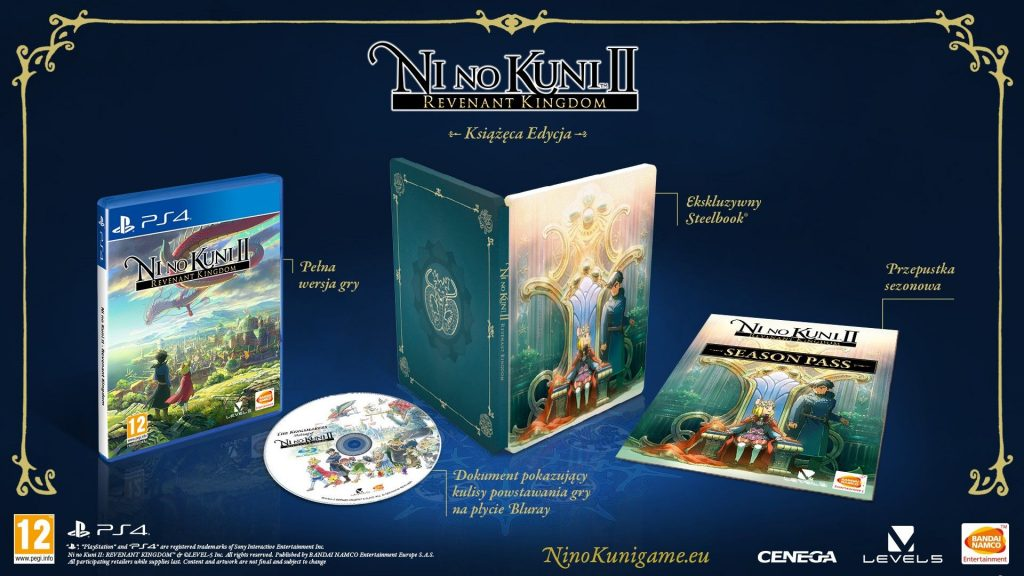 Ni No Kuni II: Revenant Kingdom Edycja Steelbook