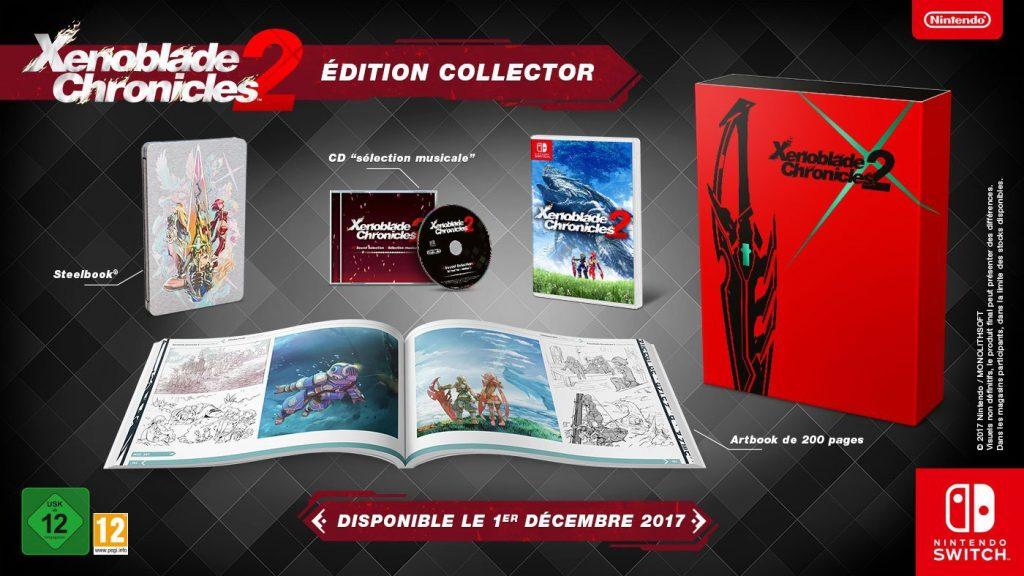 Xenoblade Chronicles 2 Edycja Kolekcjonerska