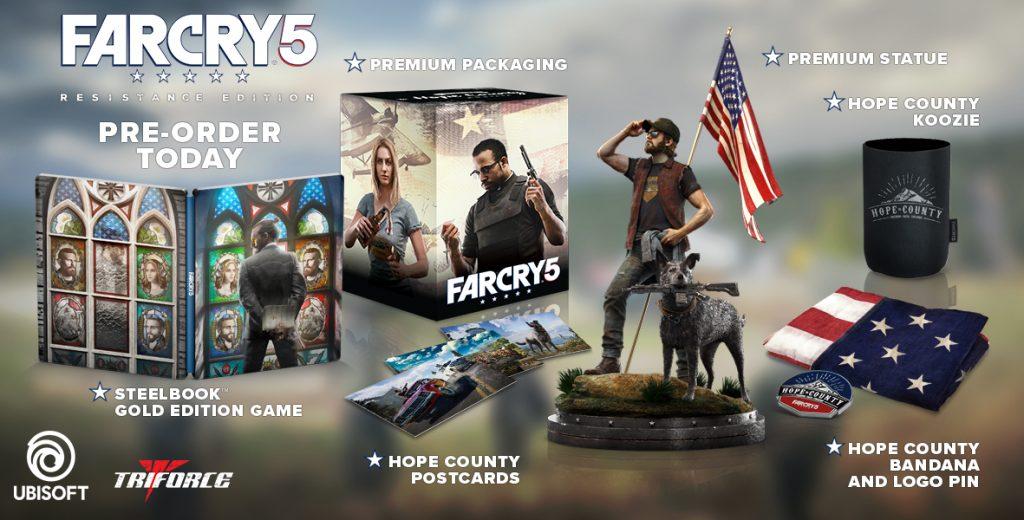 Far Cry 5 Resistance Edition