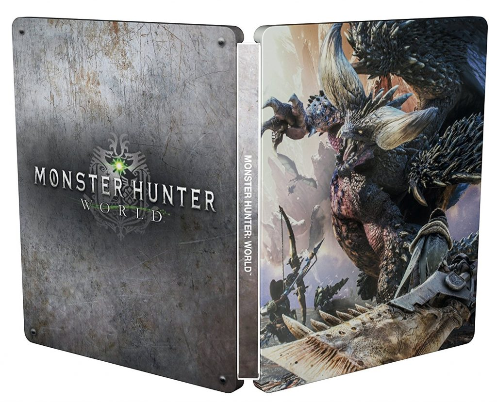 Monster Hunter: World Steelbook