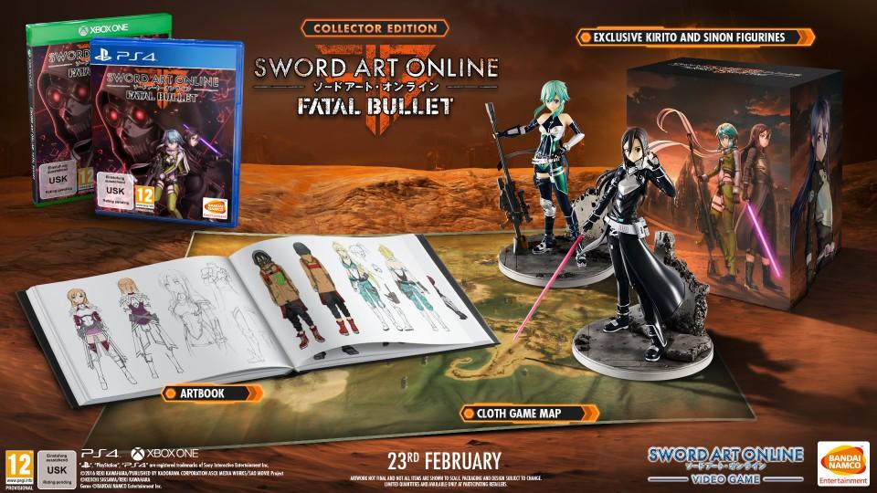 Kolekcjonerskie wydanie Sword Art Online : Fatal Bullet
