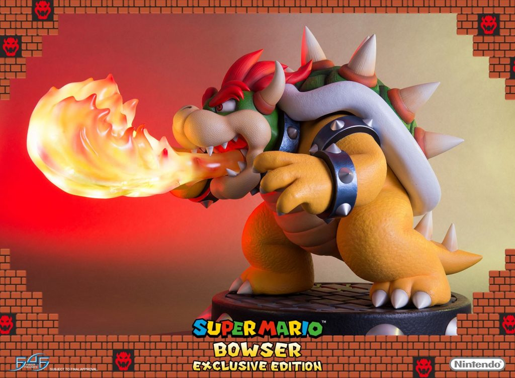 Figura Bowser Exclusive Edition