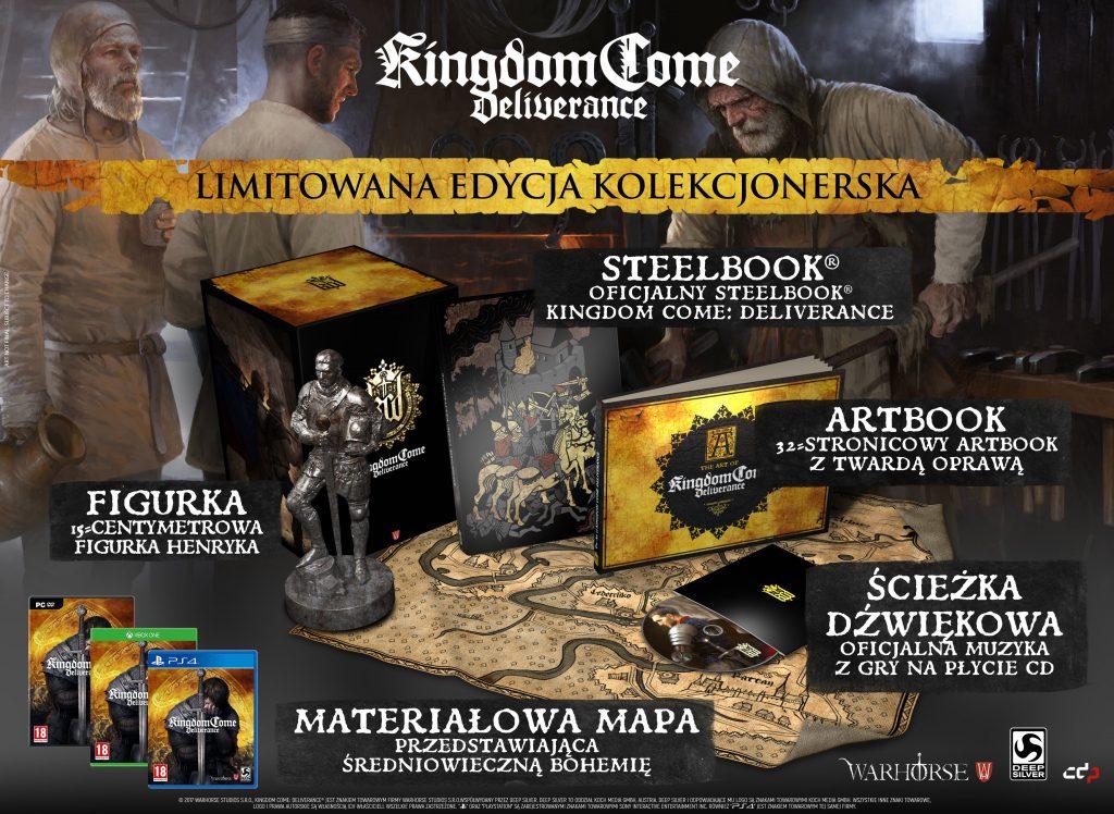 Edycja kolekcjonerska Kingdom Come: Deliverance