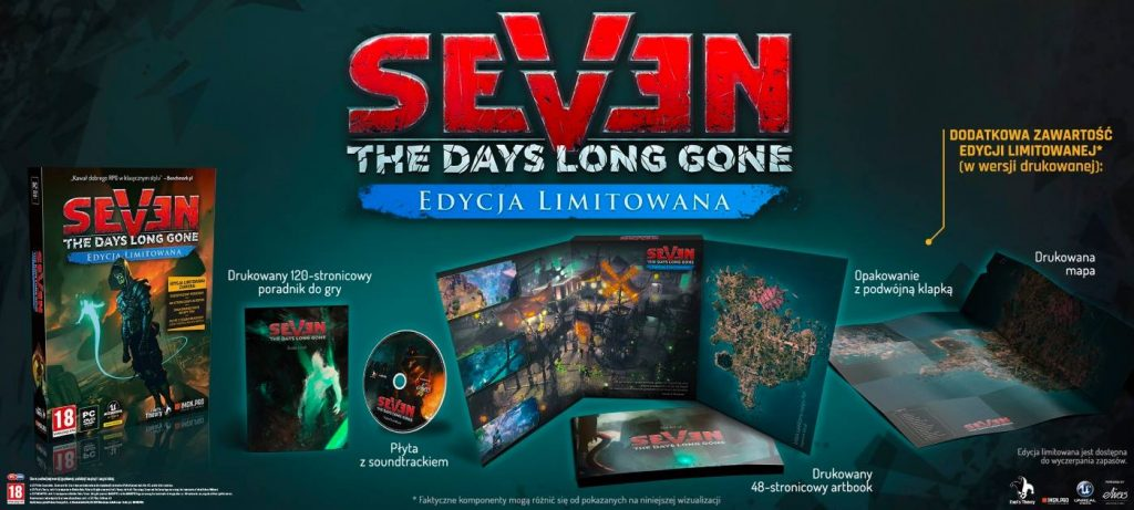 Edycja limitowana Seven: The Days Long Gone