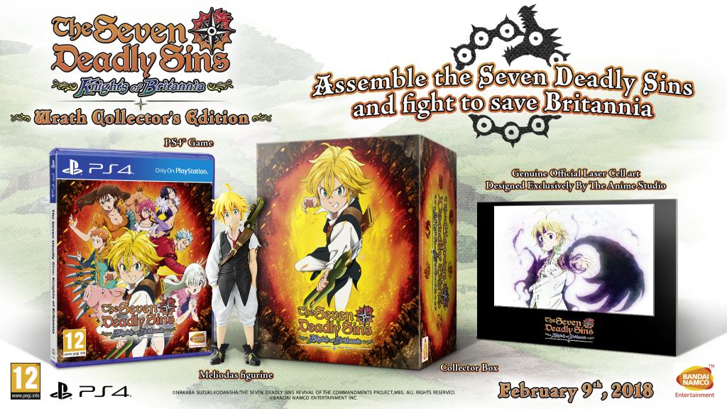 Edycja kolekcjonerska Seven Deadly Sins: Wrath of the Dragon's Sin