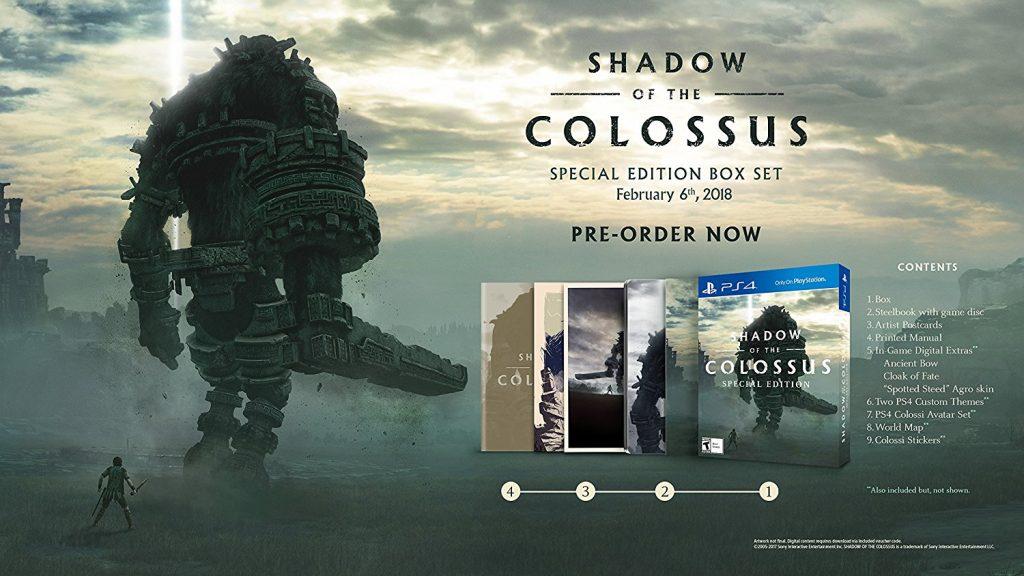 Specjalna edycja Shadow of the Colossus