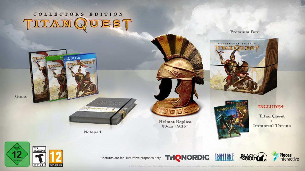 Edycja Kolekcjonerska Titan Quest