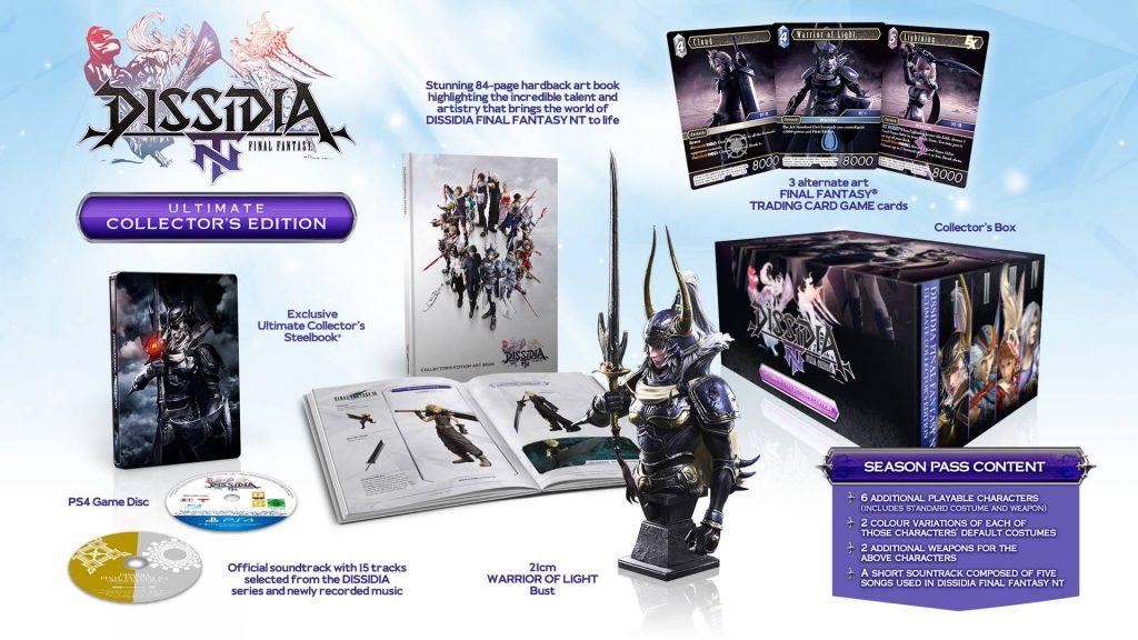 Dissidia Final Fantasy NT Edycja Kolekcjonerska Ultimate