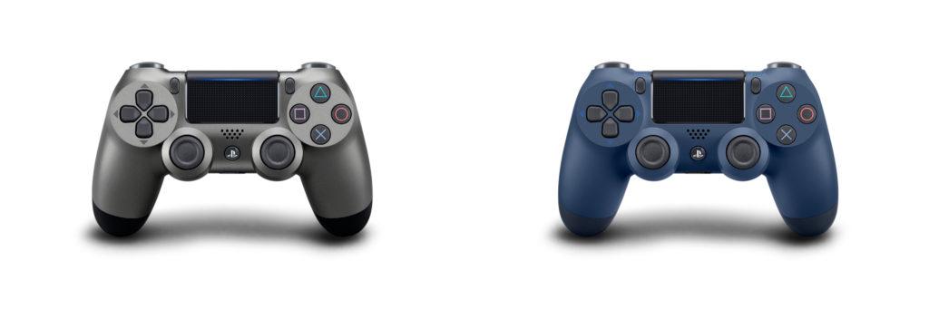 DualShock 4 Steel Black i Midnight Blue
