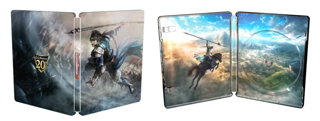 Dynasty Warriors 9 Steelbook