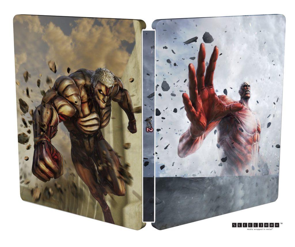 Attack on Titan 2 Steelbook