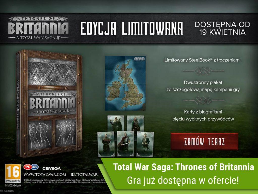 Total War Saga: Thrones of Britannia Edycja Limitowana