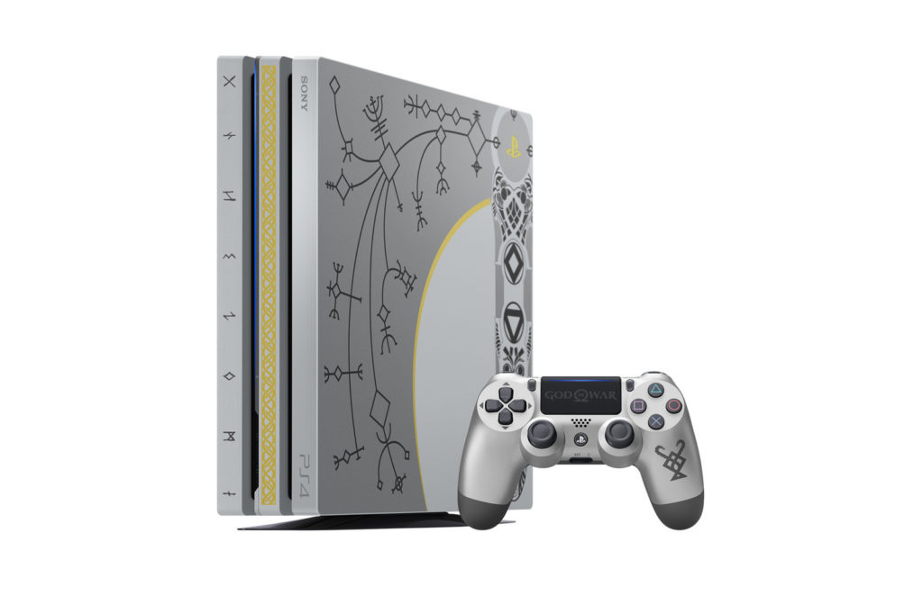 Playstation 4 Pro God of War Limited Edition