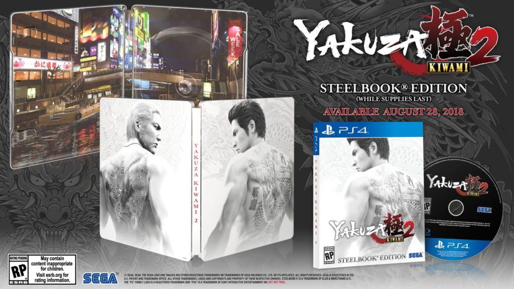 Yakuza: Kiwami 2 Steelbook Edition