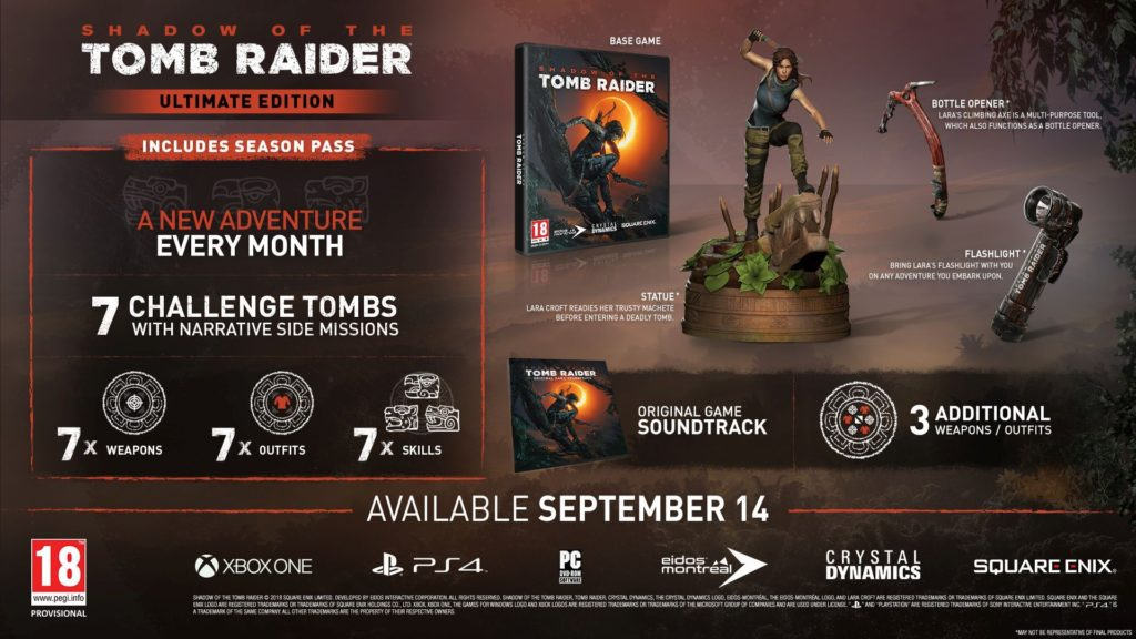 Shadow of The Tomb RaiderUltimate Edition