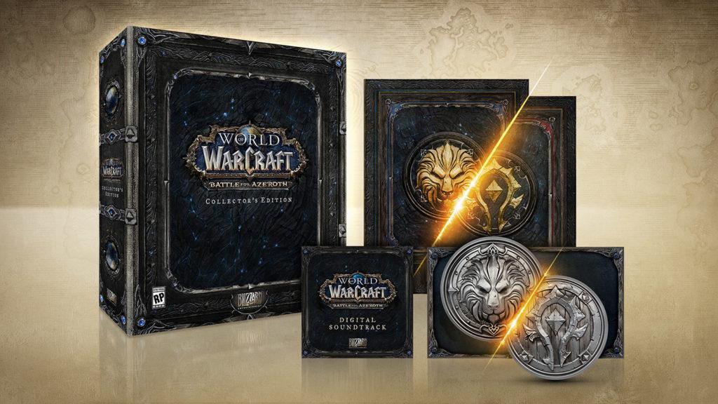 World of Warcraft : Battle for Azeroth Edycja Kolekcjonerska
