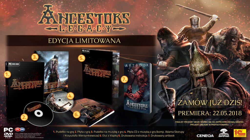 Ancestors Legacy Edycja Limitowana