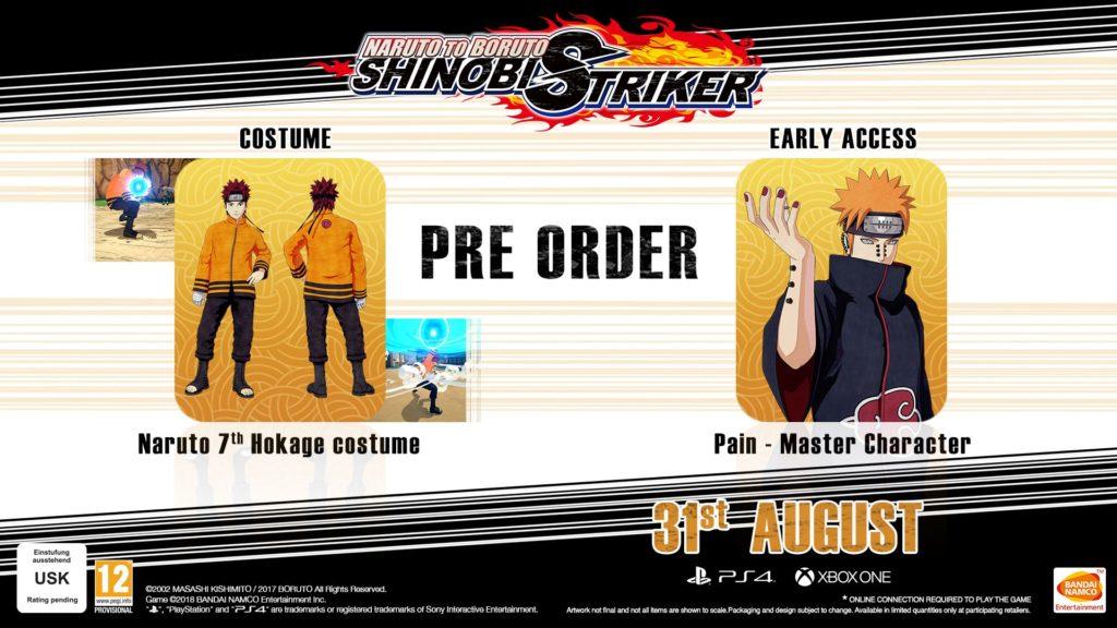 Naruto to Boruto: Shinobi Striker Uzumaki Edition Preorder Bonus