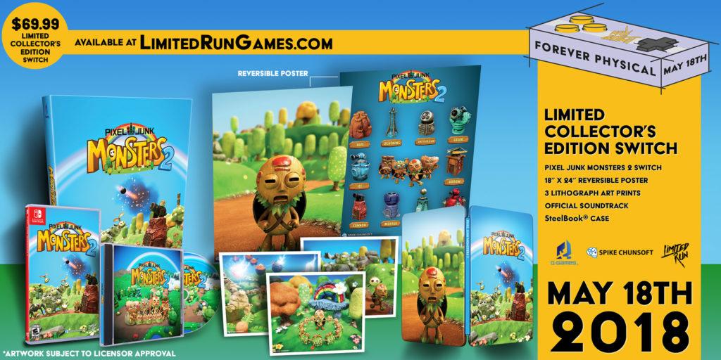 PixelJunk Monsters 2 Edycja Kolekcjonerska