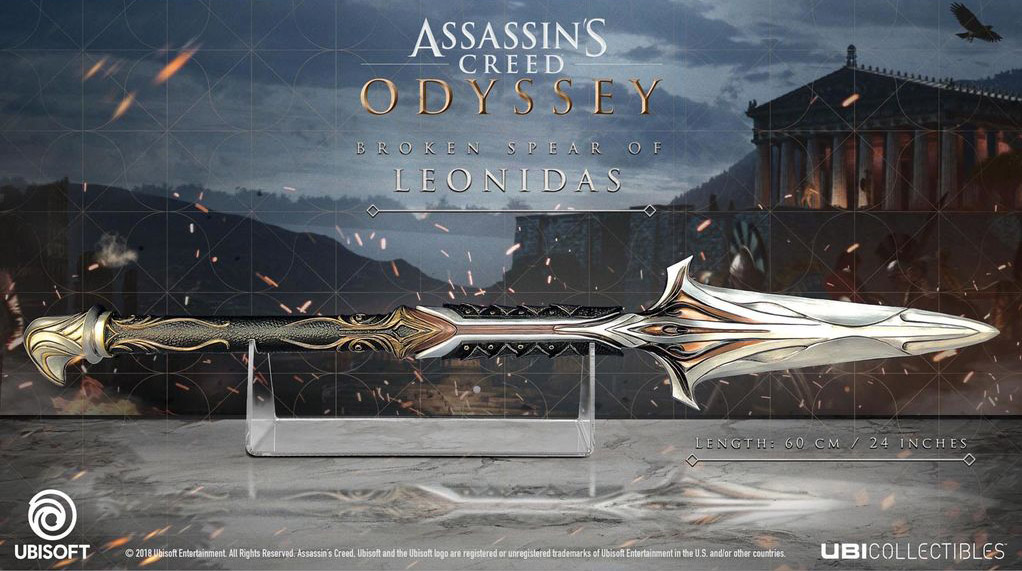 Assassin's Creed Odyssey Broken Spear of Leonidas
