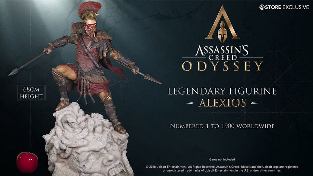 Assassin's Creed Odyssey Figurka Legendary Alexios