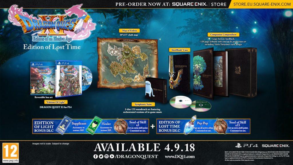 Edycja Kolekcjonerska Dragon Quest XI: Echoes of an Elusive Age