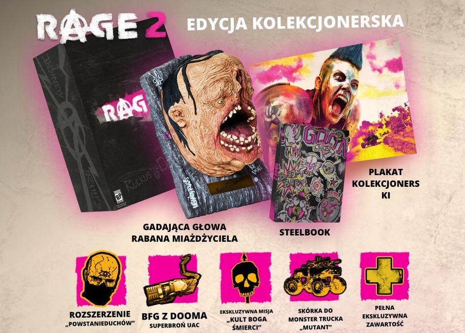 Rage 2 Edycja Kolekcjonerska