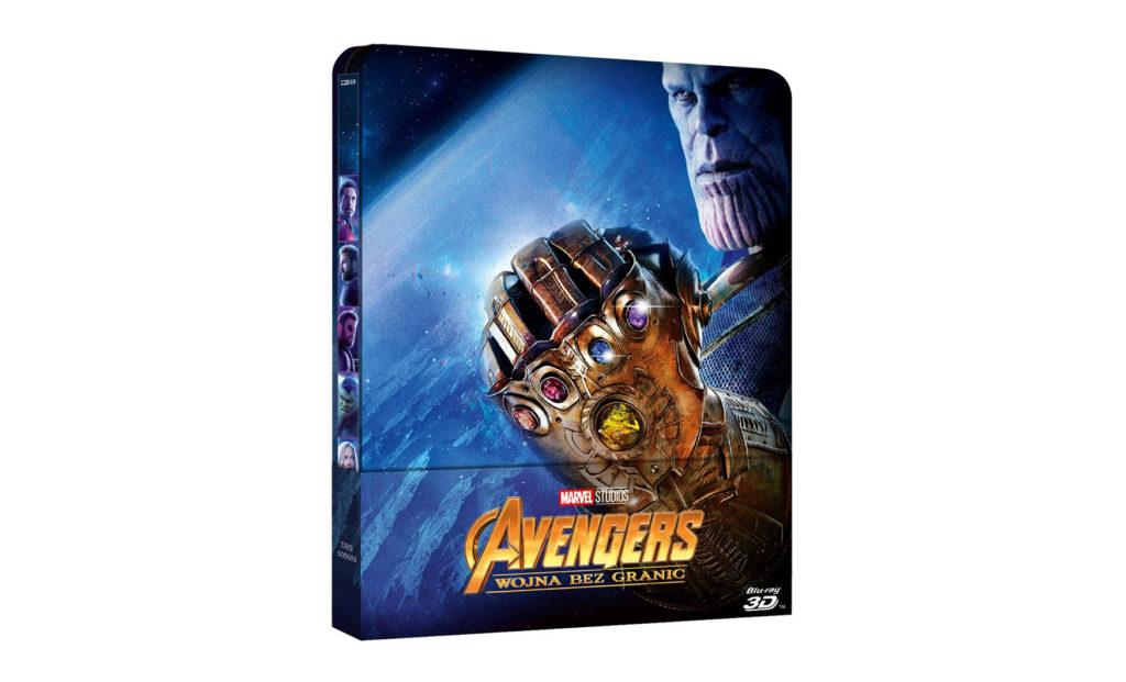 Avengers: Wojna bez granic Blu-Ray 3D steelbooku