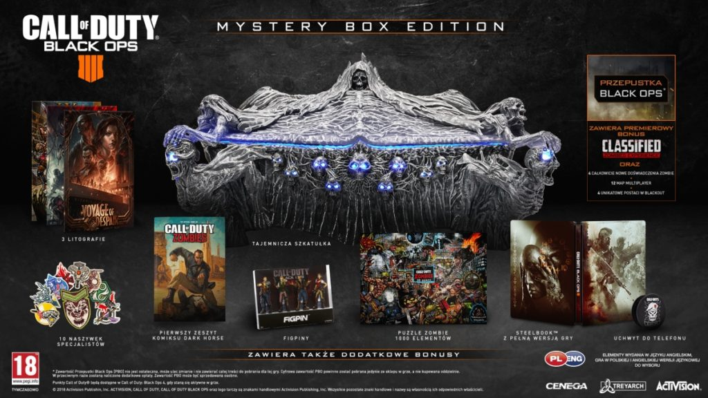 Edycja kolekcjonerska Call of Duty: Black Ops 4 Mystery Box