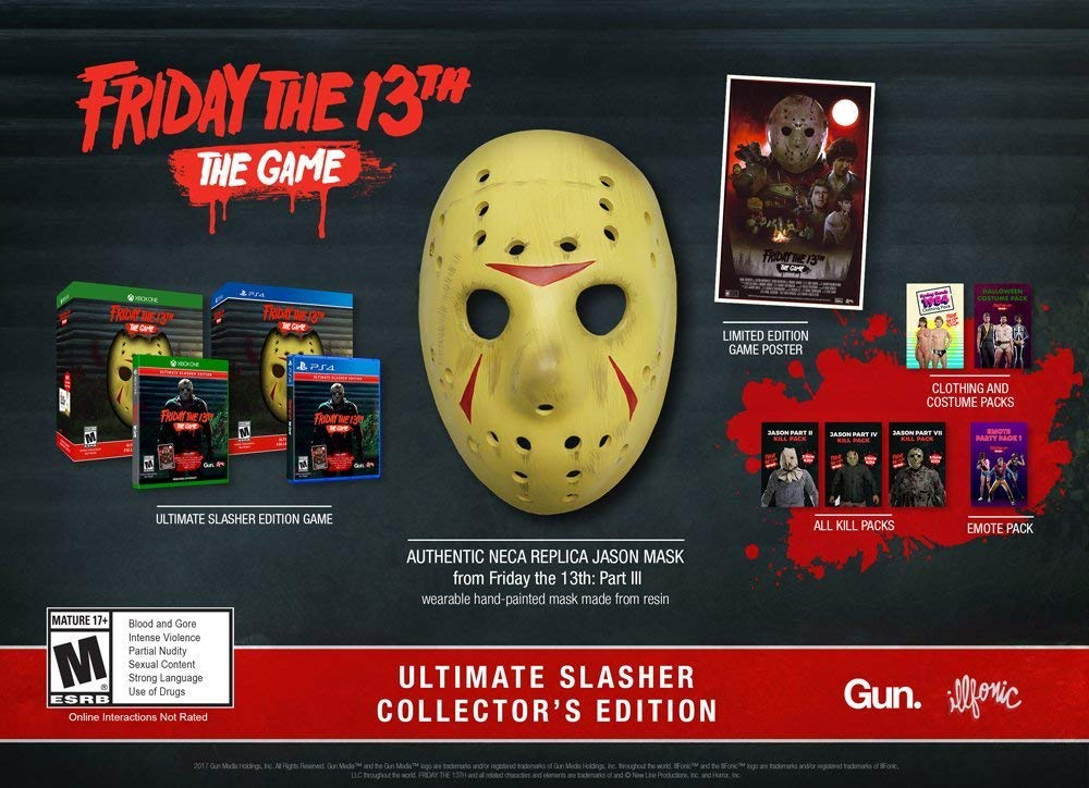 Friday The 13th: The Game Ultimate Slasher Collector's Edition