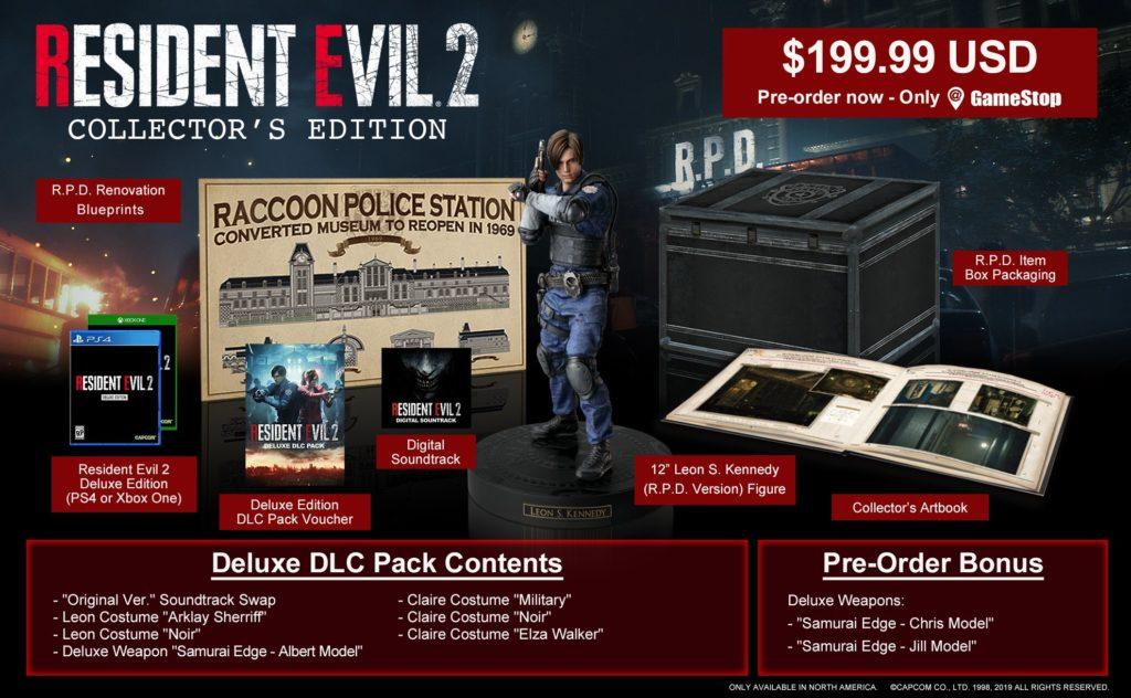 Edycja kolekcjonerska Resident Evil 2