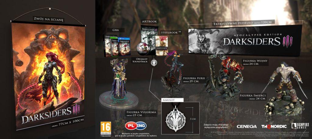 Darksiders 3 Edycja Kolekcjonerska
